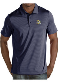 huge selection of 1ad88 32f38 Antigua St Louis Blues Mens Navy Blue Quest Short Sleeve Polo Shirt