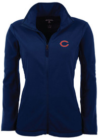 new style c36a9 1343b Antigua Chicago Bears Womens Navy Blue Ice Light Weight Jacket