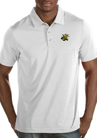Antigua Wichita State Shockers White Quest Short Sleeve Polo Shirt