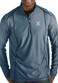 Antigua Xavier Musketeers Navy Blue Tempo 1/4 Zip Pullover