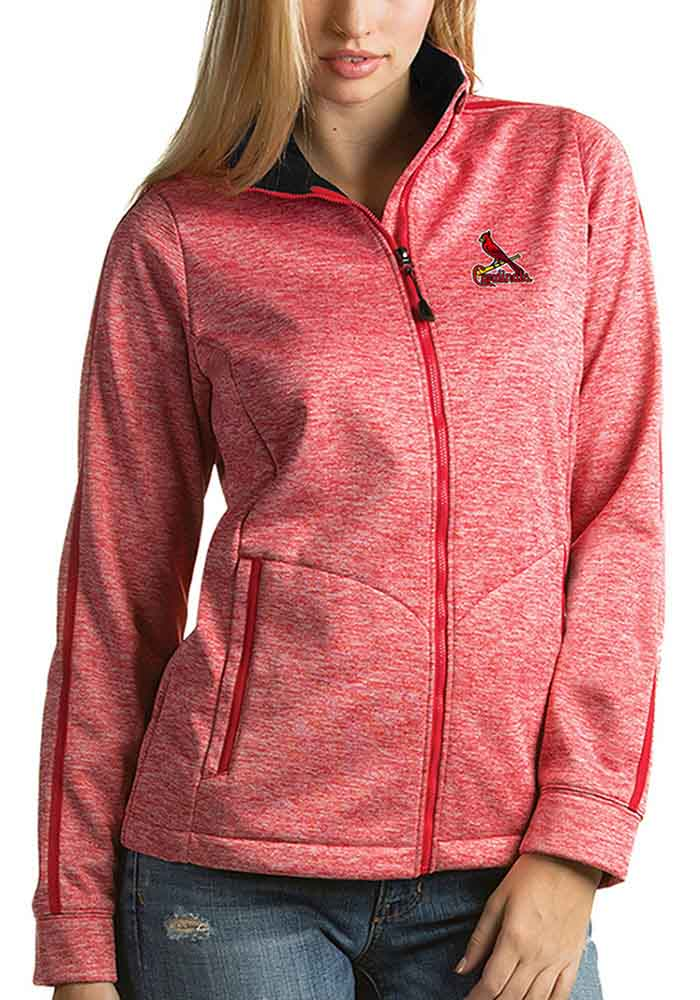 Antigua St Louis Cardinals Womens Red Golf Jacket Heavy Weight Jacket - Image 1