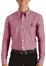 Antigua Cleveland Cavaliers Red National Dress Shirt