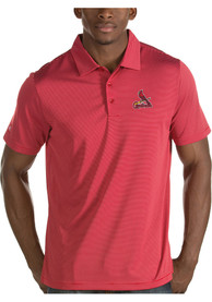 St Louis Cardinals Antigua Quest Polo Shirt - Red