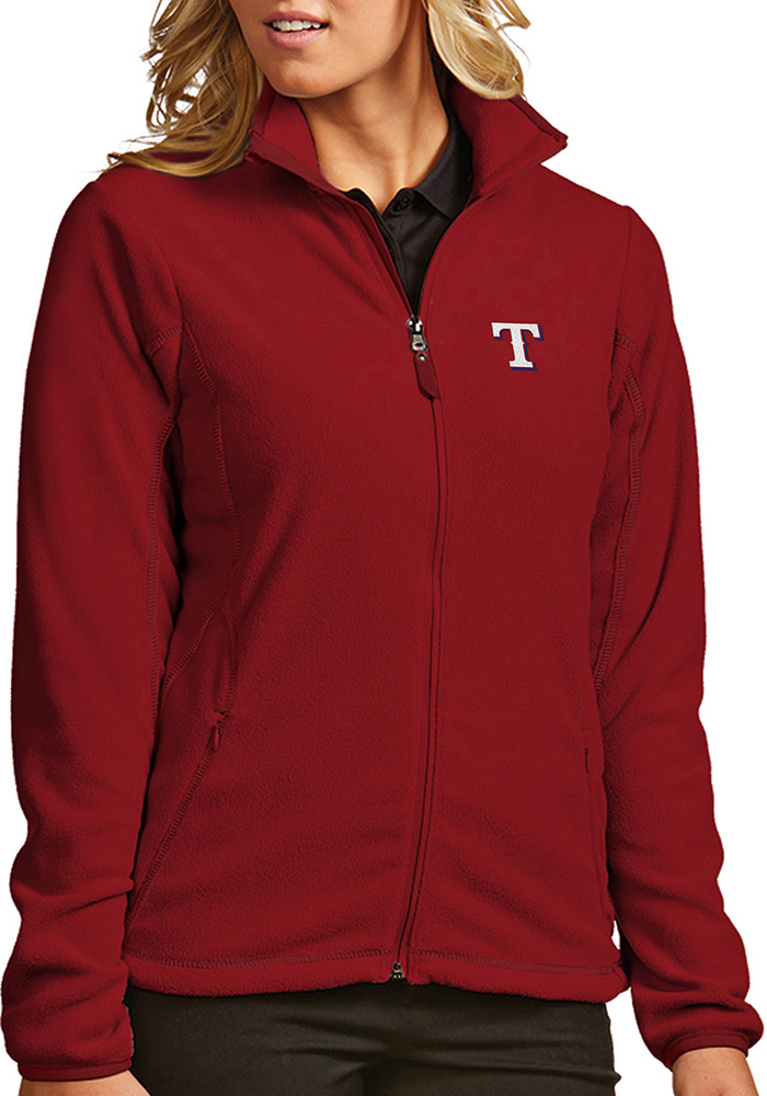 Antigua Texas Rangers Womens Red Ice Medium Weight Jacket - Image 1