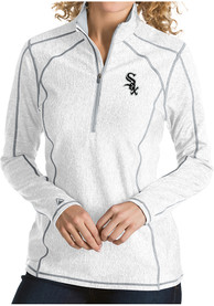 Chicago White Sox Womens Antigua Tempo 1/4 Zip - White
