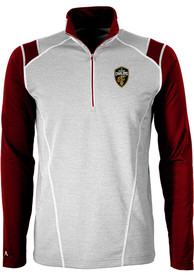 Antigua Cleveland Cavaliers Red Automatic 1/4 Zip Pullover