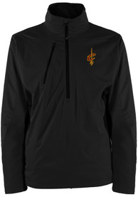 Cleveland Cavaliers Antigua Discover 1/4 Zip Pullover - Black