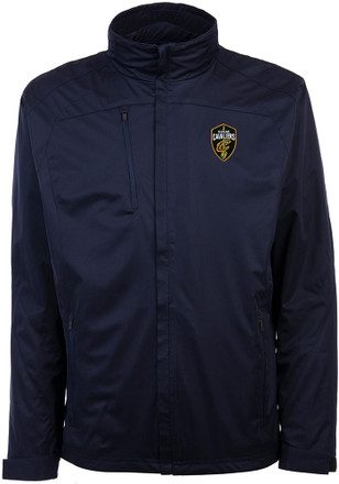 Antigua Cleveland Cavaliers Mens Navy Blue Tempest Light Weight Jacket