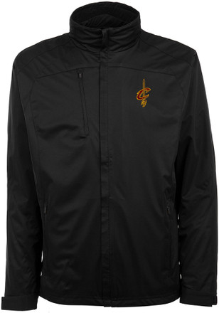 Antigua Cleveland Cavaliers Mens Black Tempest Light Weight Jacket