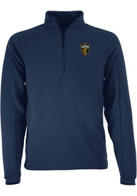 Antigua Cleveland Cavaliers Navy Blue Anchorage 1/4 Zip Pullover