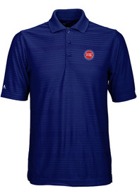 Detroit Pistons Antigua Illusion Polo Shirt - Blue