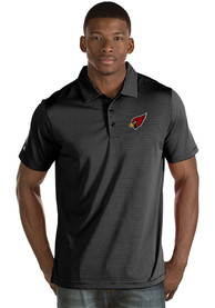 Arizona Cardinals Antigua Quest Polo Shirt - Black