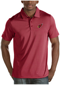 Arizona Cardinals Antigua Quest Polo Shirt - Cardinal