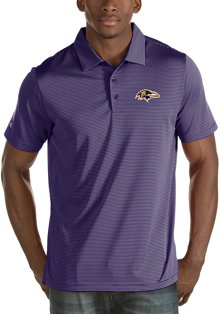 Mens Purple Quest Short Sleeve Polo