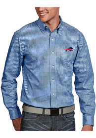 Buffalo Bills Antigua Associate Dress Shirt - Blue