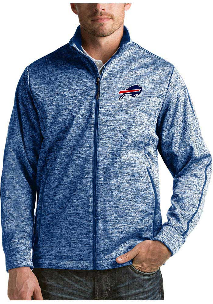 Buffalo Bills Mens Blue Golf Medium Weight Jacket - Image 1