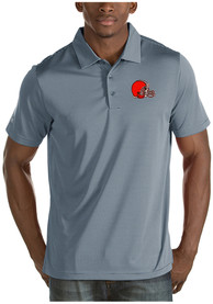 Cleveland Browns Antigua Quest Polo Shirt - Grey