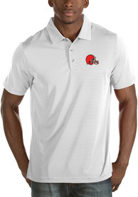 Cleveland Browns Antigua Quest Polo Shirt - White