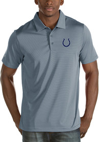 Indianapolis Colts Antigua Quest Polo Shirt - Grey