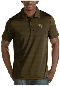 Jacksonville Jaguars Antigua Quest Polo Shirt - Black
