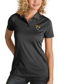 Jacksonville Jaguars Womens Antigua Quest Polo Shirt - Black