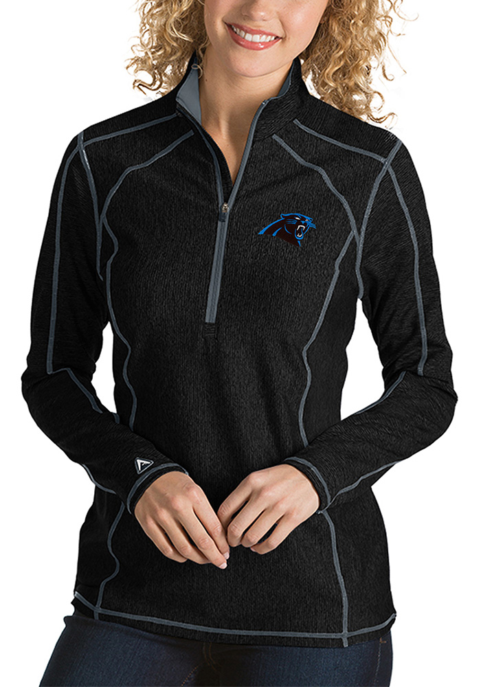 Carolina Womens Black Tempo 1/4 Zip Pullover - Image 1