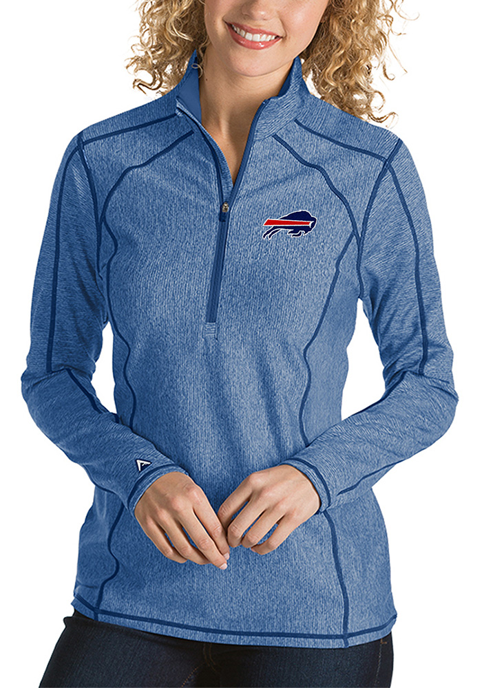 Buffalo Womens Blue Tempo 1/4 Zip Pullover - Image 1