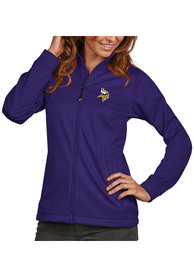 Minnesota Vikings Womens Antigua Golf Light Weight Jacket - Purple