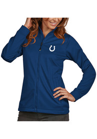Indianapolis Colts Womens Antigua Golf Light Weight Jacket - Blue
