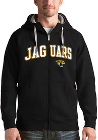 Jacksonville Jaguars Antigua Victory Full Zip Jacket - Black