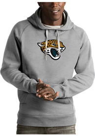 Jacksonville Jaguars Antigua Victory Hooded Sweatshirt - Grey