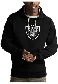 Las Vegas Raiders Antigua Victory Hooded Sweatshirt - Black