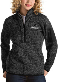 Antigua Providence Friars Womens Fortune Black 1/4 Zip Pullover
