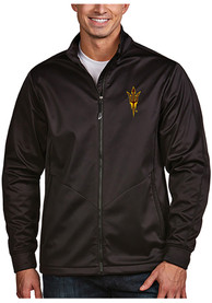 Arizona State Sun Devils Antigua Golf Light Weight Jacket - Black