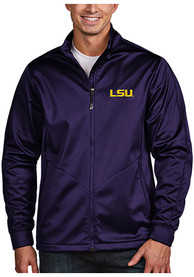 LSU Tigers Antigua Golf Light Weight Jacket - Purple