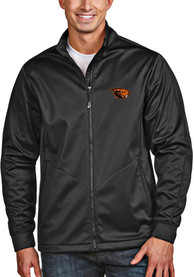Oregon State Beavers Antigua Golf Light Weight Jacket - Black