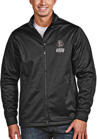 UMD Bulldogs Antigua Golf Light Weight Jacket - Black