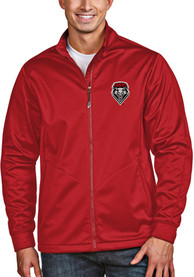 New Mexico Lobos Antigua Golf Light Weight Jacket - Red