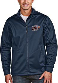 UTEP Miners Antigua Golf Light Weight Jacket - Navy Blue