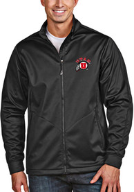Utah Utes Antigua Golf Light Weight Jacket - Black