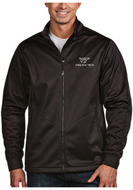 Virginia Tech Hokies Antigua Golf Light Weight Jacket - Black