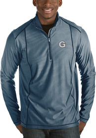 Georgetown Hoyas Antigua Tempo 1/4 Zip Pullover - Navy Blue