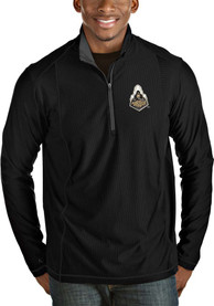 Purdue Boilermakers Antigua Tempo 1/4 Zip Pullover - Black