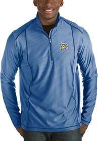 San Jose State Spartans Antigua Tempo 1/4 Zip Pullover - Blue