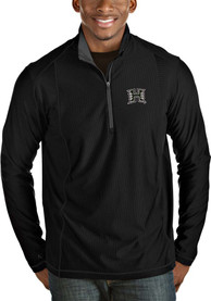 Hawaii Warriors Antigua Tempo 1/4 Zip Pullover - Black