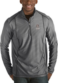 UMD Bulldogs Antigua Tempo 1/4 Zip Pullover - Grey