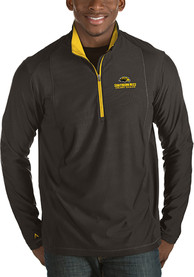 Southern Mississippi Golden Eagles Antigua Tempo 1/4 Zip Pullover - Black