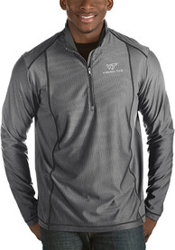 Virginia Tech Hokies Antigua Tempo 1/4 Zip Pullover - Grey