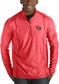 Western Kentucky Hilltoppers Antigua Tempo 1/4 Zip Pullover - Red