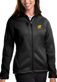 Central Michigan Chippewas Womens Antigua Traverse Medium Weight Jacket - Black